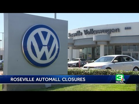 2 dealership in Roseville Automall close their doors