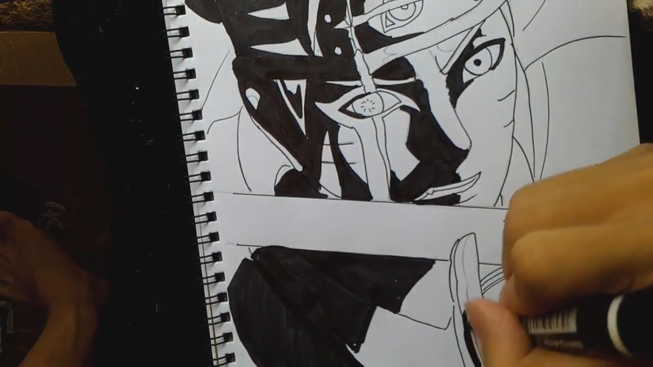 Drawings Naruto Black And White