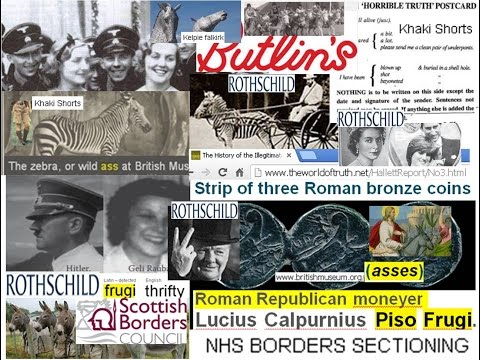 2000yr Religious Bank FRAUDS and the ASSES WW1&2 SBC NHS HRH Hitler Rothschild Murray fascists
