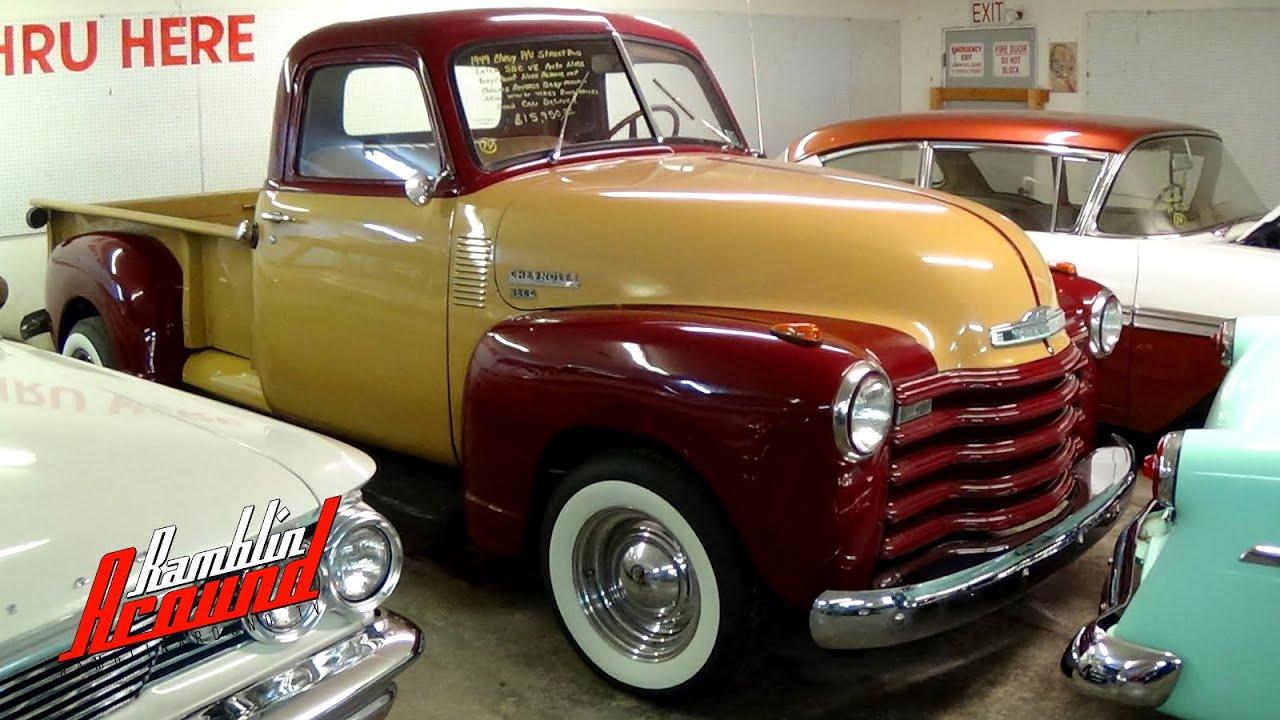 Truck 1949 chevy panel truck : 1949 Chevrolet 3600 Hot Rod Pickup 350 V8 - YouTube