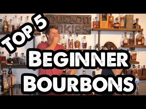 Bourbon Junkies Top 5 Beginner Bourbons!