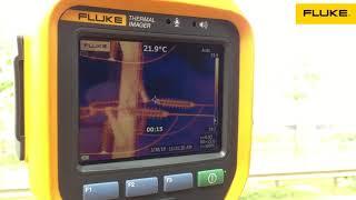 HD Quay video nhiệt với camera nhiệt Fluke Ti450