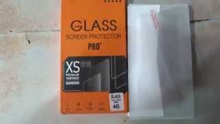 Apple iPhone 4 Mobile Glass Screen protector ( screen guard,scratch guard )