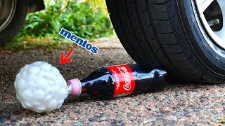 Crushing Crunchy & Soft Things by Car! - Coca-Cola and Mentos vs Car