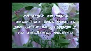en kadhale (video karaoke by nagesh)