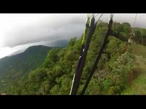 Paragliding Costa Rica Jan 2013