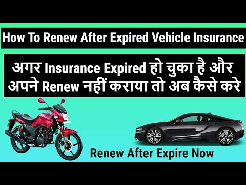 how-to-renew-after-expire-vehicle-insurance