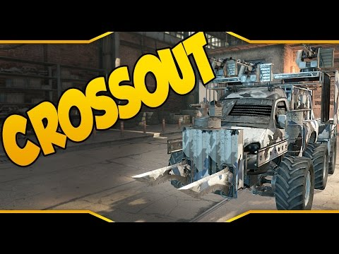 Crossout ➤ Mad Max Meets RoboCraft! [Let's Play Crossout Gameplay][Crossout Beta]