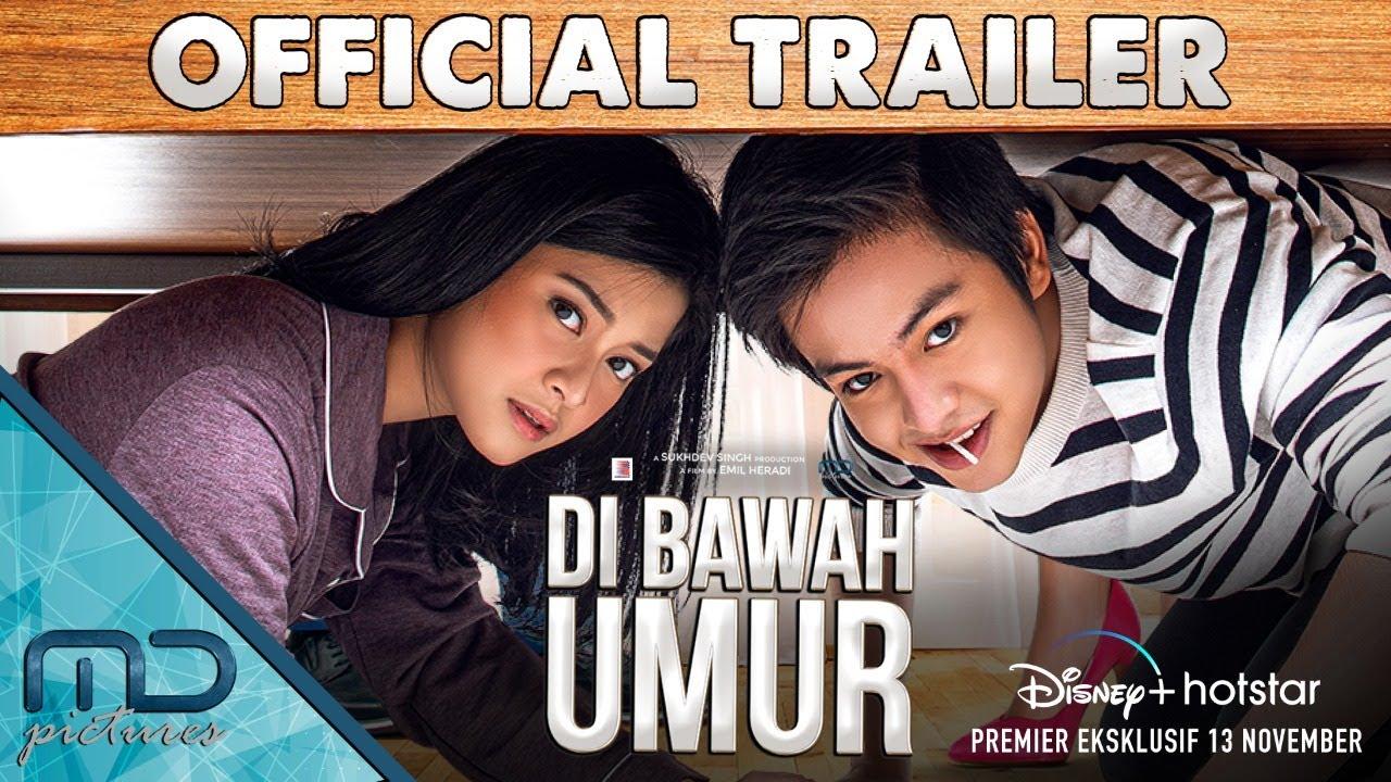 Di Bawah Umur Official Trailer 13 November 2020 Di Disney Hotstar Youtube