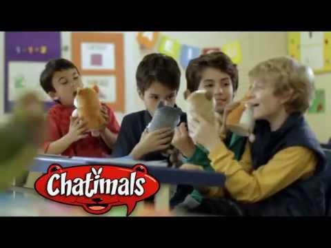 Pelúcia Interativa Chatimals Yellow na Kids e Cia