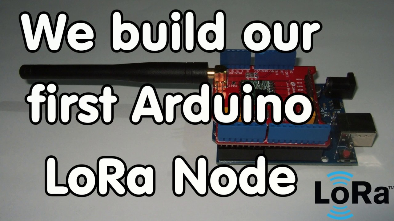 #117 DIY LoRa Node with Arduino and Dragino Shield connected to TTN LoRaWAN