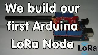 117 diy lora node with arduino and dragino shield connected to ttn lorawan
