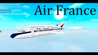 ROBLOX | Air France Boeing 727 Flight