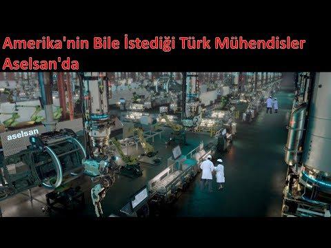 Amerika'nin Bile İstediği Türk Mühendisler Aselsan'da