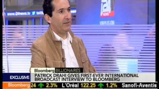 Patrick Drahi On Bloomberg TV - 06.02.2014