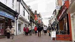 Bury St Edmunds Suffolk. UK.