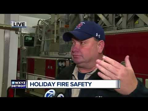 Practicing holiday fire safety