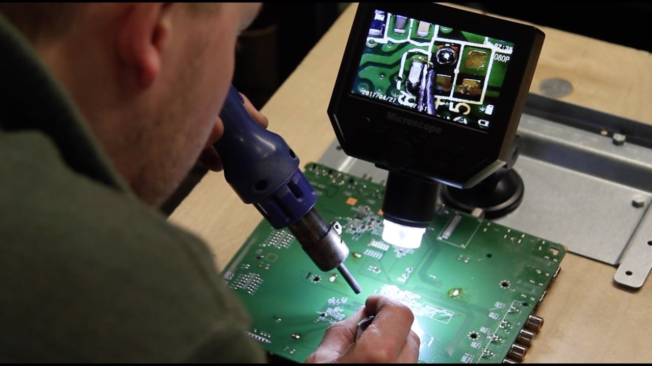 Portable Digital Hd Microscope Precision Soldering For