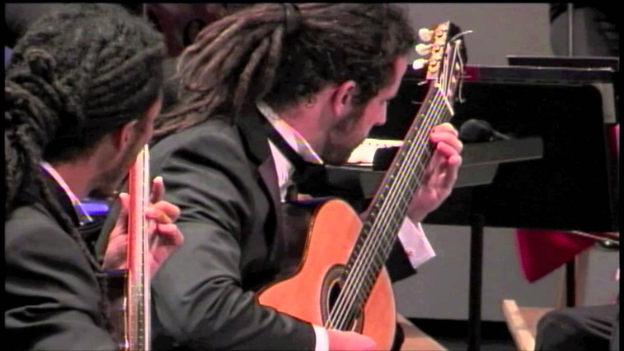I Castelnuovo-Tedesco Concerto for Two Guitars - Brasil Guitar Duo - heartland festival orchestra