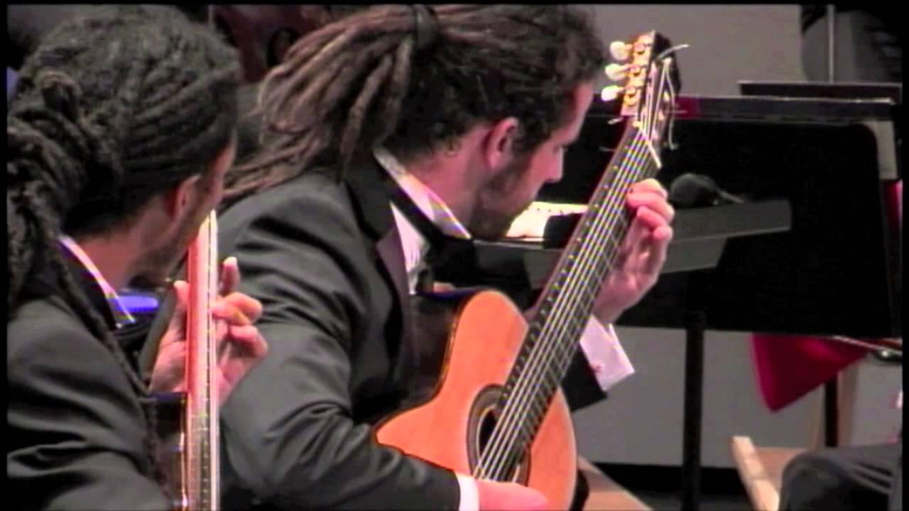 I Castelnuovo-Tedesco Concerto for Two Guitars - Brasil Guitar Duo - heartland festival orchestra