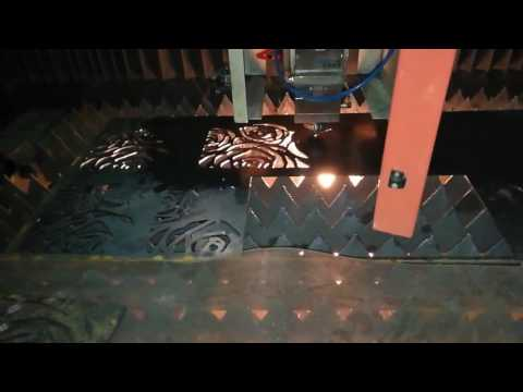 3mm carbon steel laser cutting, 500W fiber laser cutting machine OPTIC TECH