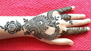 Easy Beautiful SAWAN Arabic MEHNDI DESIGNS 2020   Dubai Style MEHANDI Designs   Dubai Henna Designs