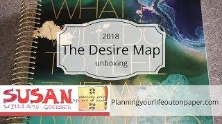 The Desire Map Planner 2018 walk through