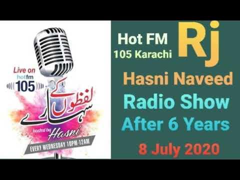 Rj Hasni Naveed Radio Show After 6 Years | Hot FM Karachi | 8 July 2020 | Hassan Naveed