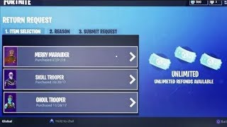 How to Get UNLIMITED REFUNDS in FORTNITE - How to get more refunds in fortnite free | Patrick Savage