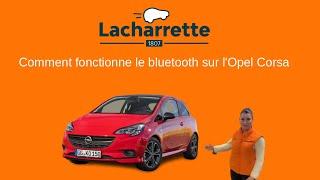 Comment connecter son téléphone en bluetooth sur une Opel Corsa