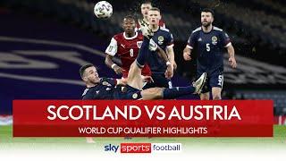 McGinn scores sensational overhead kick! | Scotland 2-2 Austria | World Cup Qualifier Highlights