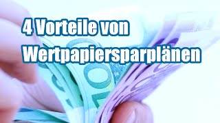 Mein Aktiensparplan - 4 Vorteile von Wertpapiersparplänen