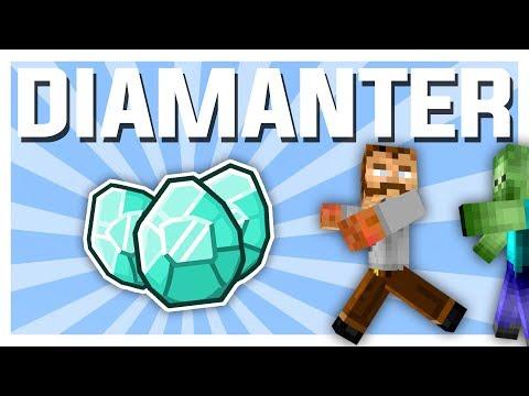 Den PERFEKTE gruven! (diamanter) | Minecraft Vanilla #4