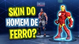 IRON MAN'S FORTNITE-SKIN? UNDERSTAND THE RUMOR AND SEE EVERYTHING RELEASED IN THIS SEASON!