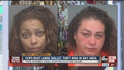 Bay Area wide wallet and purse theft ring busted in Tarpon Springs