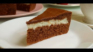 Шоколадный Пирог с Кокосовым Кремом Торт Баунти Chocolate Coconut Cake Recipe