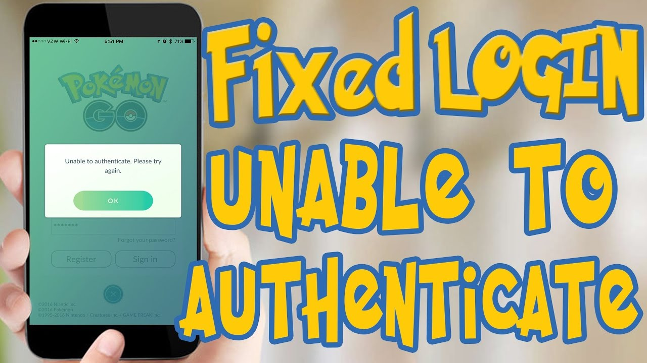 How to fix Unable to authenticate Please Try again Pokemon Go  (100%  works   😀😁😀😁😀)