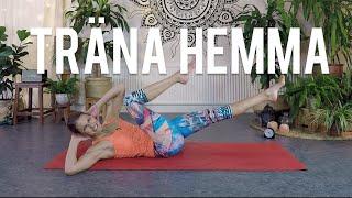TRÄNA HEMMA - Fredagsfys med svettig CORE-träning