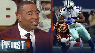 Cris Carter on Amari Cooper having a 'breakout game' vs the Redskins | NFL | FIRST THINGS FIRST