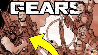 Gears of War Lore - New COG Character WILL CARMINE!