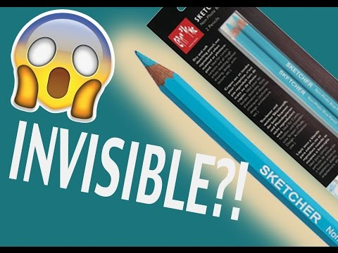 INVISIBLE BLUE PENCIL?! - Marker Illustration