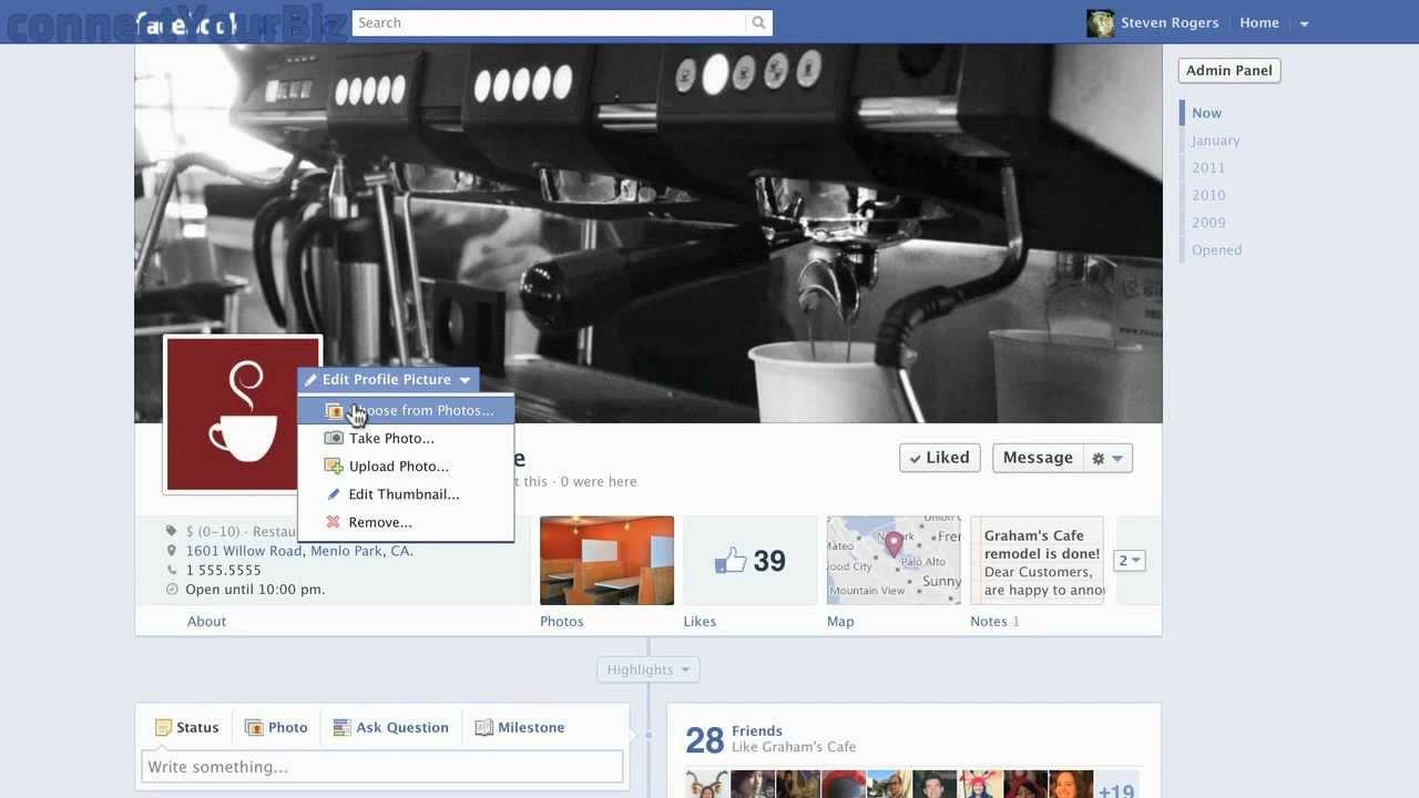 Profilbild ändern Facebook