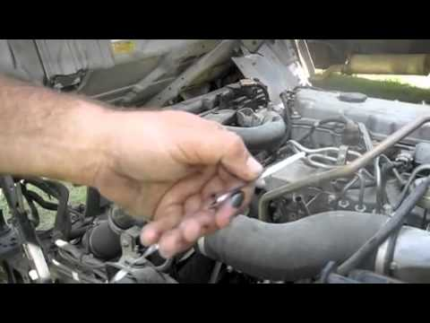 Busbee's how to check oil & water on Isuzu NPR & NQR series and GMC W series