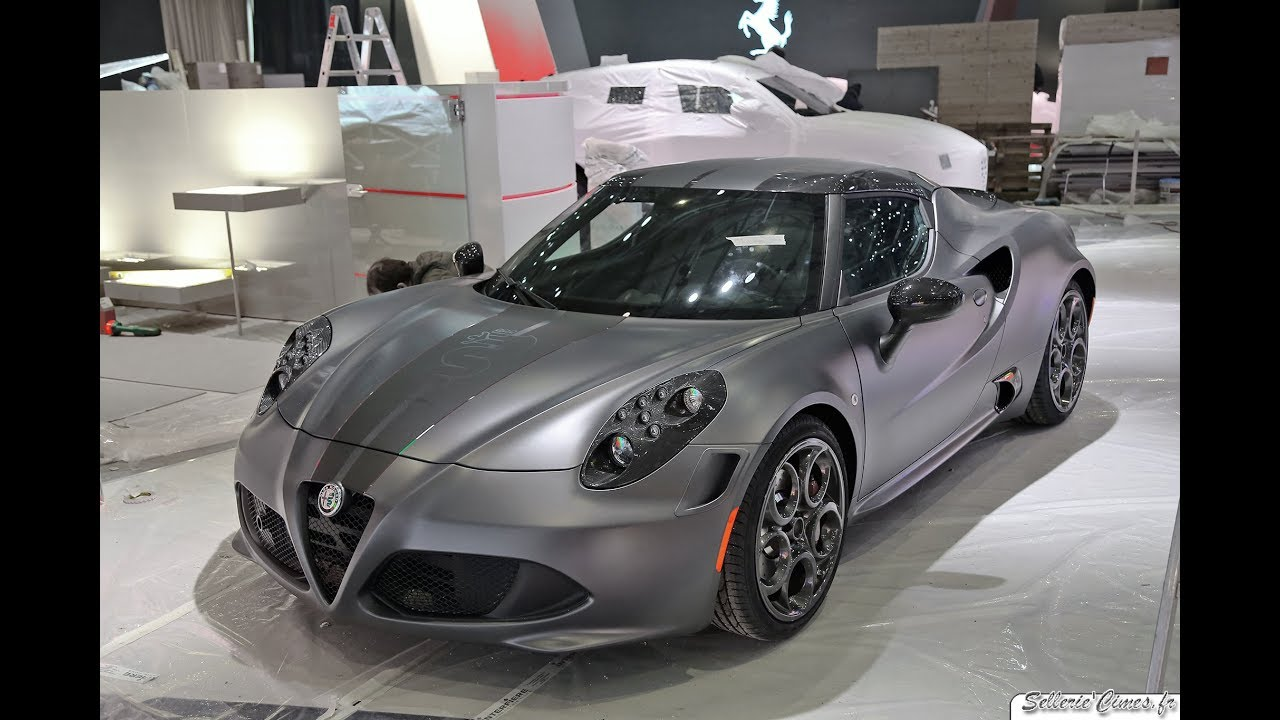 alfa romeo 4c competizione limited edition youtube. Black Bedroom Furniture Sets. Home Design Ideas
