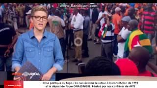 Quand la presse internationale « ARTE » s'intéresse à la situation de crise politique au Togo