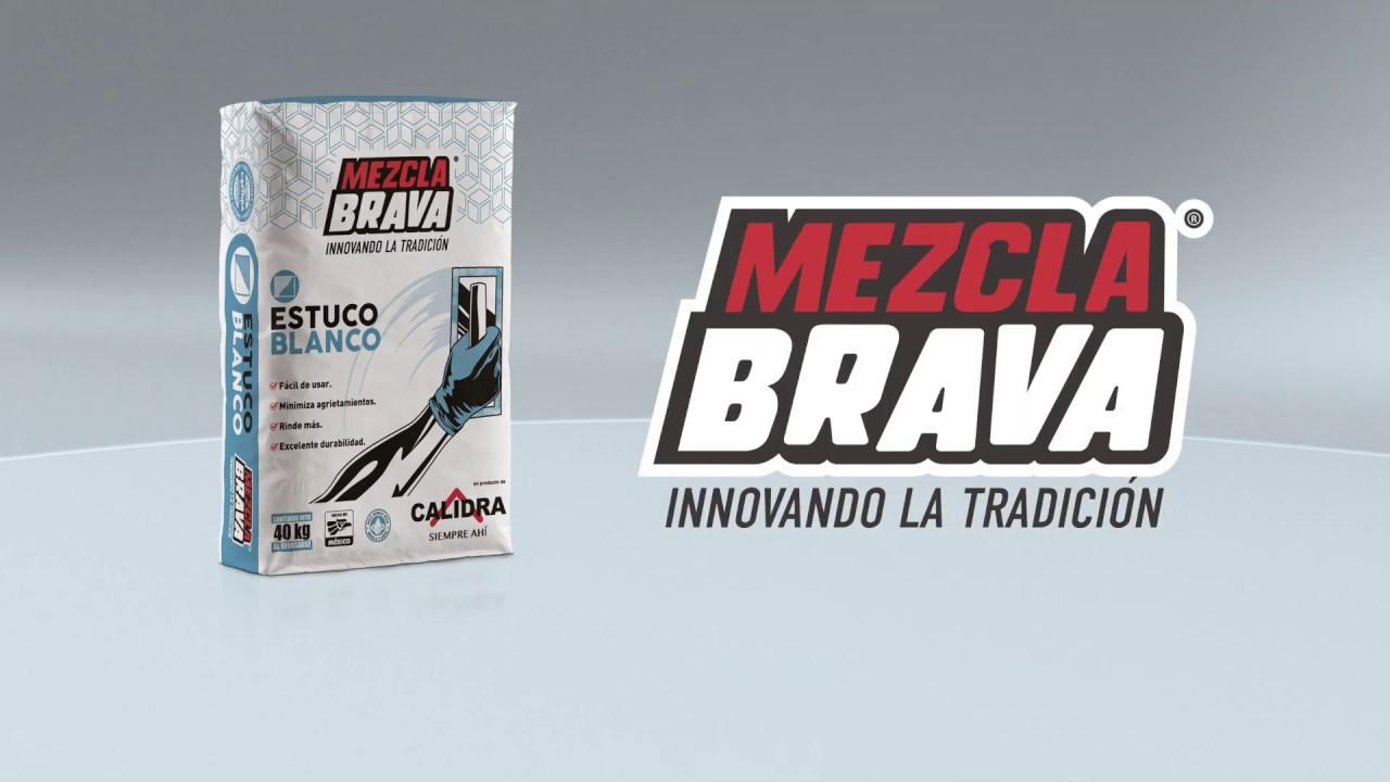 Recubre con estuco Mezcla Brava - YouTube
