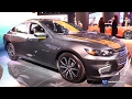 2017 Chevrolet Malibu LT - Exterior and Interior Walkaround - 2017 Detroit Auto Show