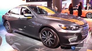 2017 Chevrolet Malibu LT - Exterior and Interior Walkaround - 2017 Detroit Auto Show