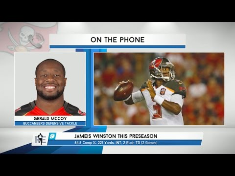 Buccaneers DT Gerald McCoy on QB Jameis Winston - 8/27/15