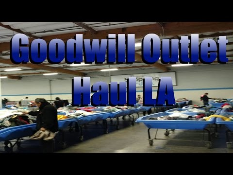 Bin Pickers- Goodwill Outlet Los Angeles Clothing Haul + Chatting About Profits on Ebay